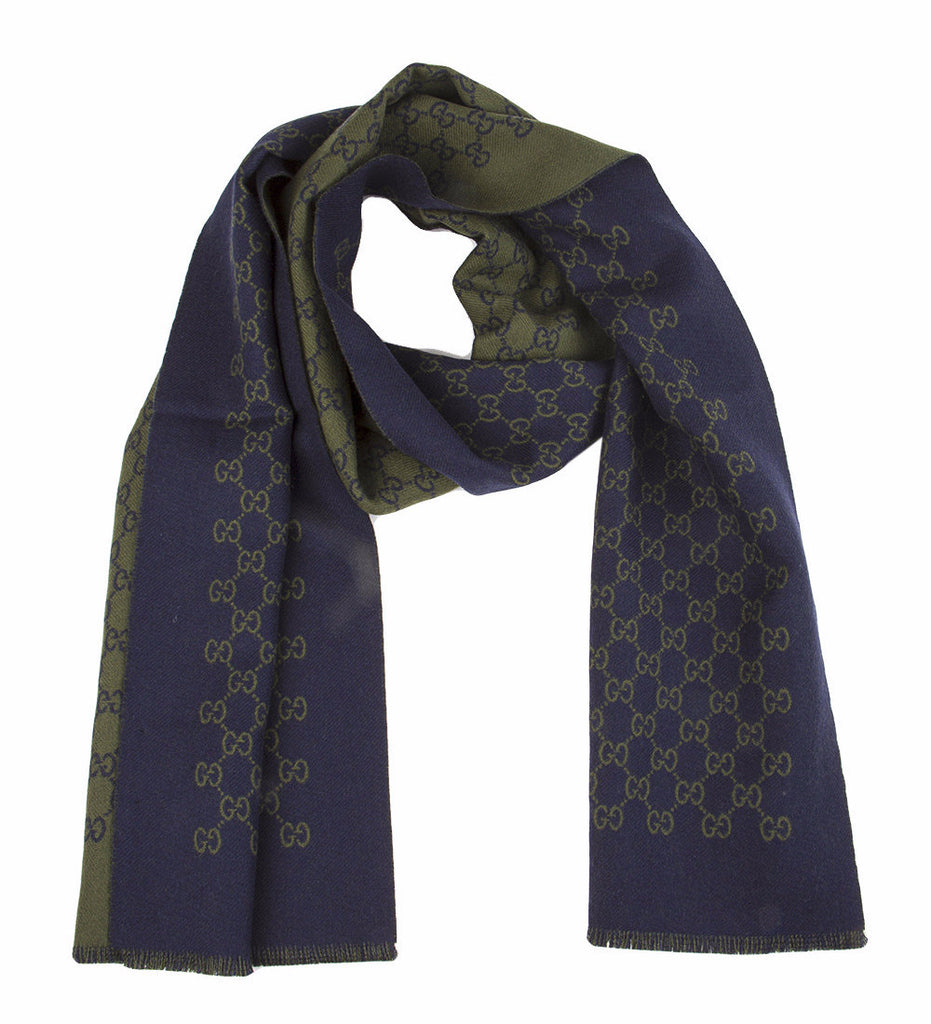 Gucci Double Jacquard GG Wool Scarf – Cettire a6f2a5021b4c