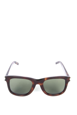 Saint Laurent Classic 51 Tortoiseshell Effect Sunglasses