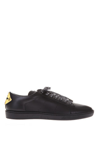 Saint Laurent Court Classic SL/01 Lip Patch Sneakers