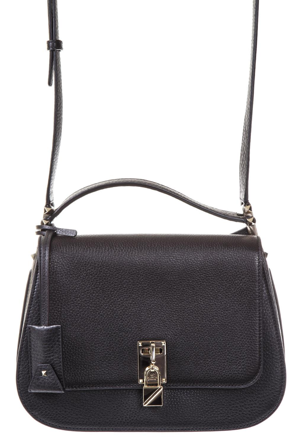 Valentino Garavani Joylock Bag in Black