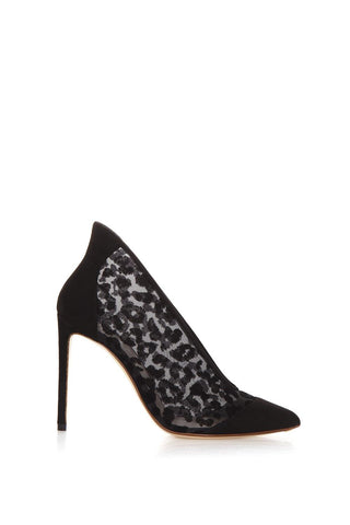 Francesco Russo Leopard Stiletto Heel Pumps