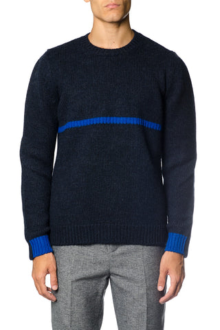 Golden Goose Deluxe Brand Single Stripe Sweater