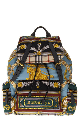 Burberry Archive Scarf Print The Medium Rucksack
