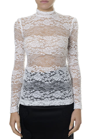 Dolce & Gabbana Lace Long Sleeve Shirt