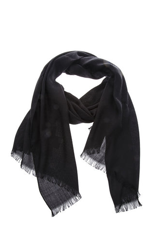 Fendi Frayed Scarf
