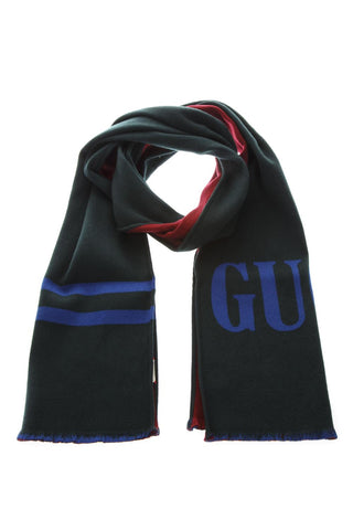 Gucci Two-Tone Logo Scarf