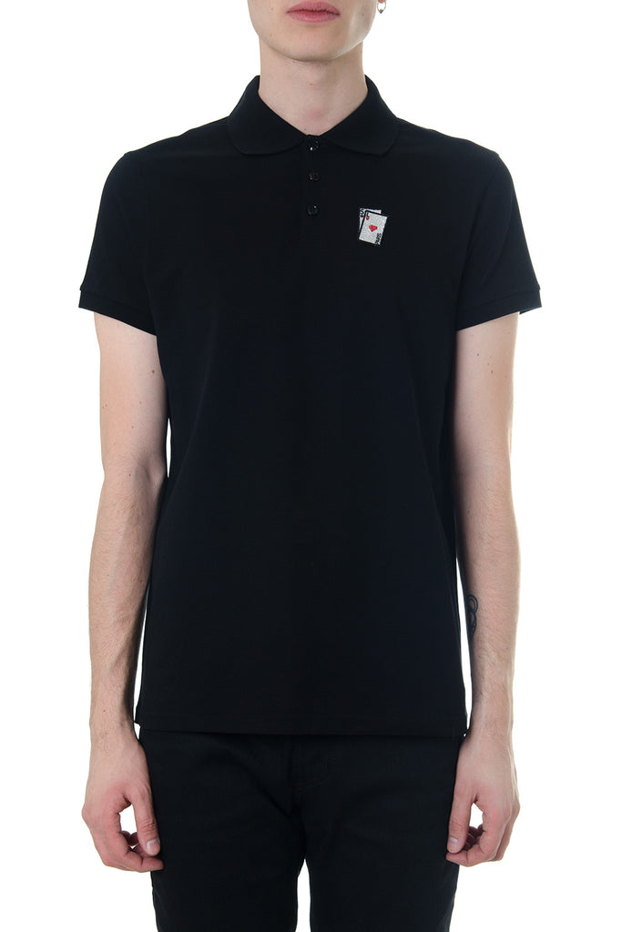 efabf0972a8 Saint Laurent Playing Cards Polo Shirt – Cettire
