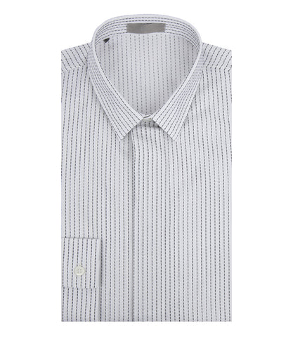 Dior Homme Stitch Detailing Cotton Shirt