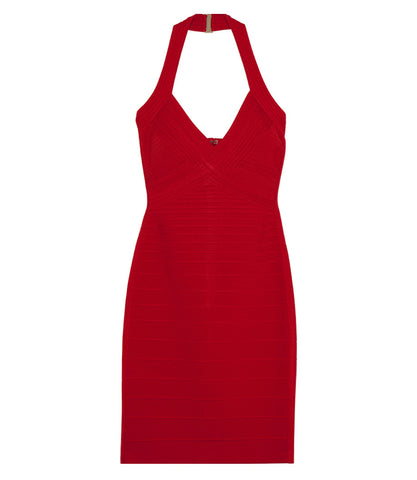 Herve Leger Adrienne Essentials Dress