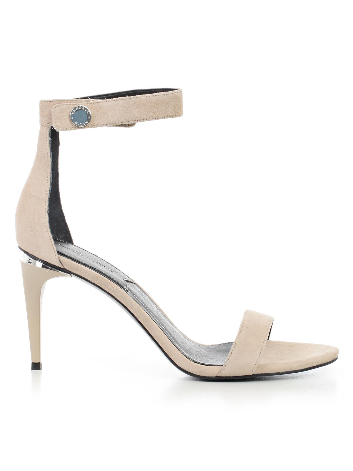 KENDALL + KYLIE CLASSIC HEELED SUEDE SANDALS