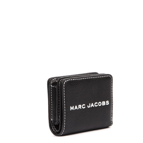Marc Jacobs Textured Tag Compact Mini Wallet