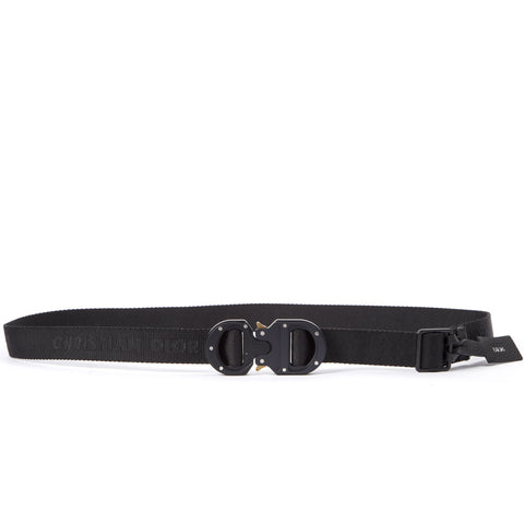 Dior Homme Logo Buckle Belt