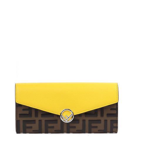 Fendi FF Monogram Continental Wallet