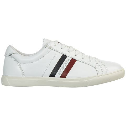 Moncler Logo Striped Print Lace Up Sneakers