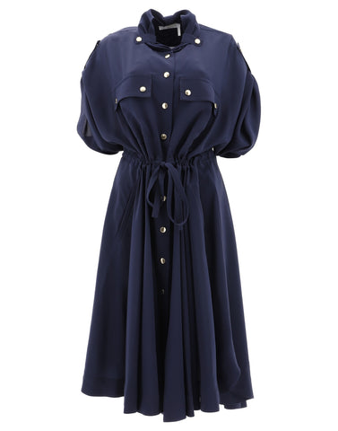 Chloé Buttoned Shirt Dress