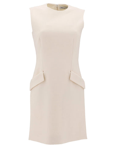 Dior Sleeveless Shift Dress