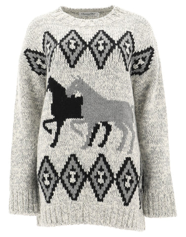 Dior Diorodeo Knit Sweater