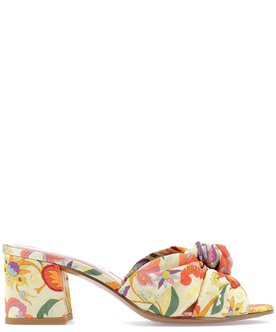 Etro Printed Knot Sandals