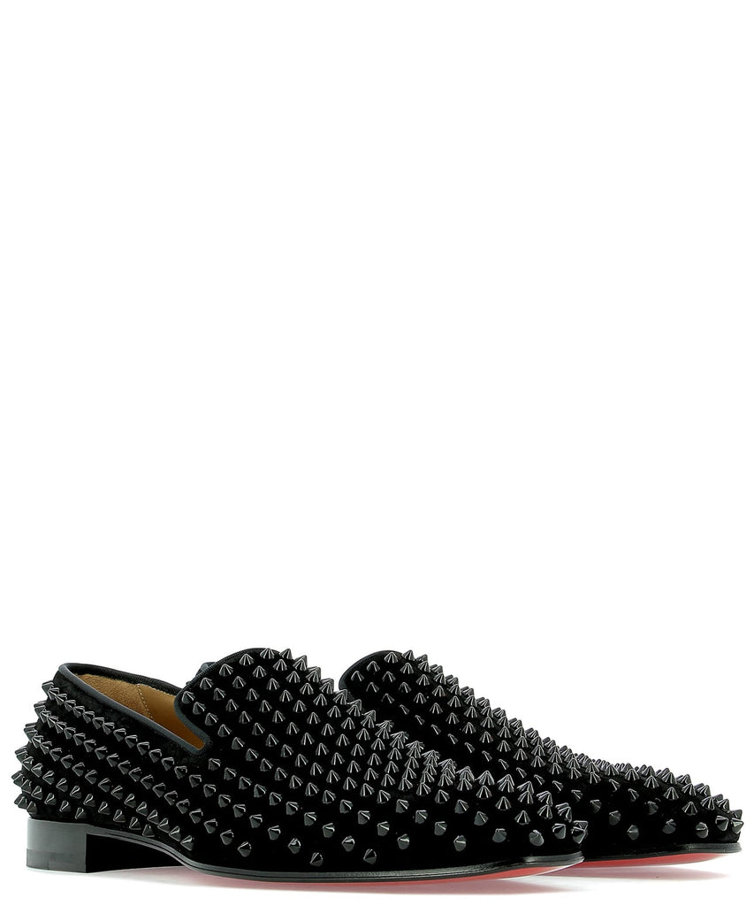 6ced8aaddb5 Christian Louboutin Dandelion Spikes Loafers – Cettire