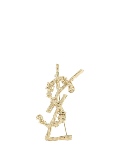 Saint Laurent Monogram Pin
