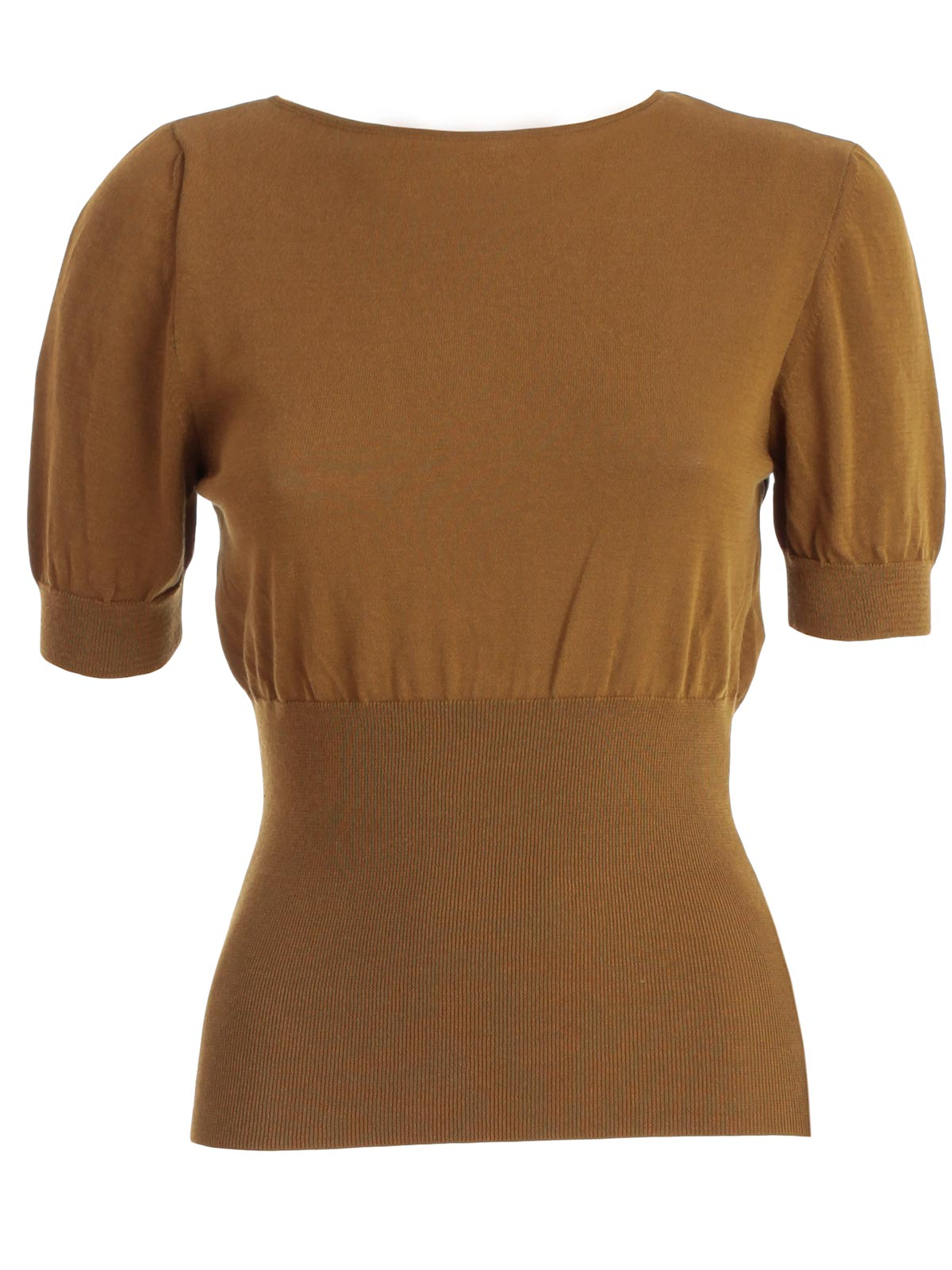 Jacquemus Knits JACQUEMUS FITTED WAIST KNIT TOP