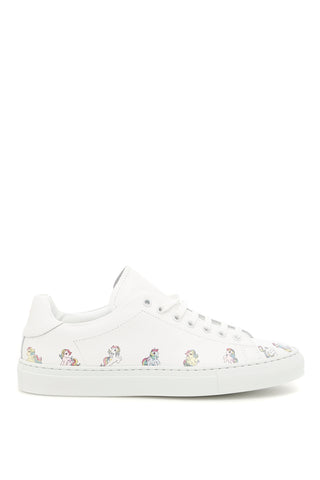Joshua Sanders Little Pony Leather Sneakers
