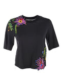 3.1 Phillip Lim Floral Embroidered Top