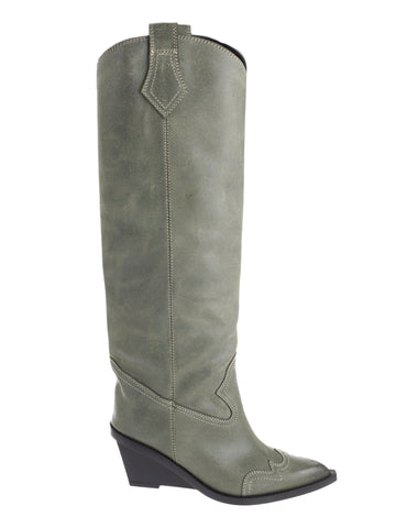 MM6 Maison Margiela Stivali Knee Length Western Boots