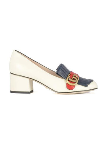 Gucci Double G Mid-Heel Pumps