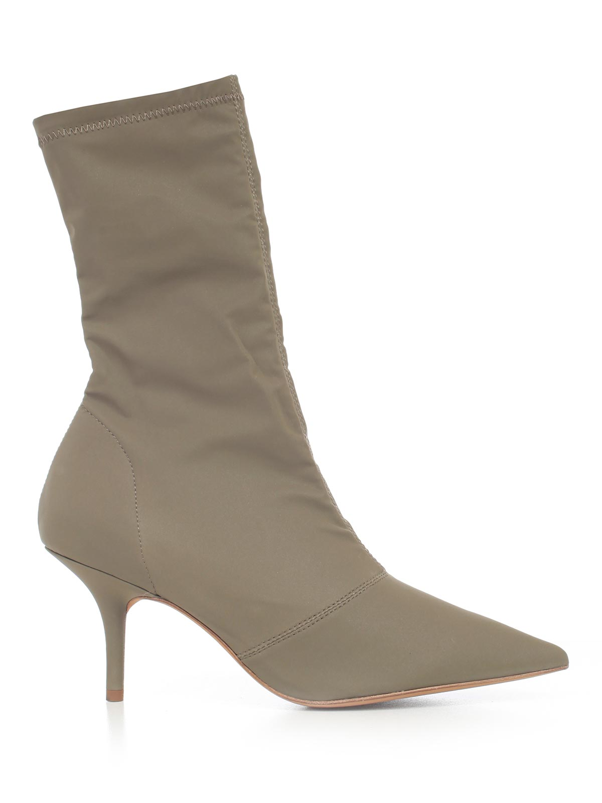 Yeezy YEEZY POINTED TOE STRETCH ANKLE BOOTS