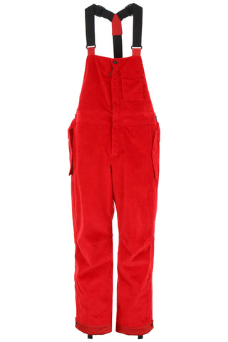Moncler Grenoble Corduroy Overalls