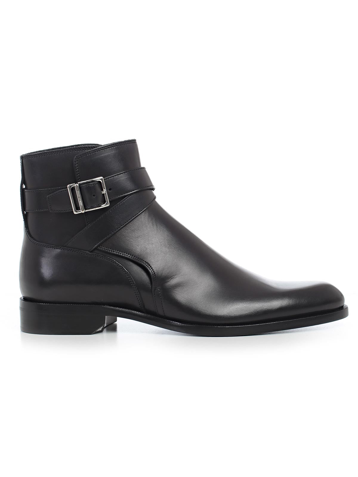 2102778feab Dior Homme Buckle Ankle Boots In 900 Black