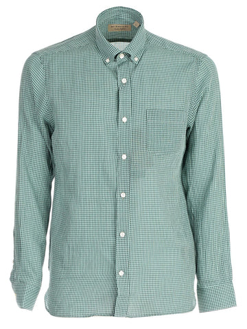 Burberry Micro Check Shirts