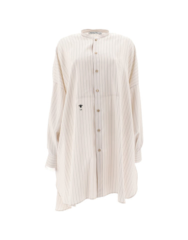 Dior Striped Tunic Blouse