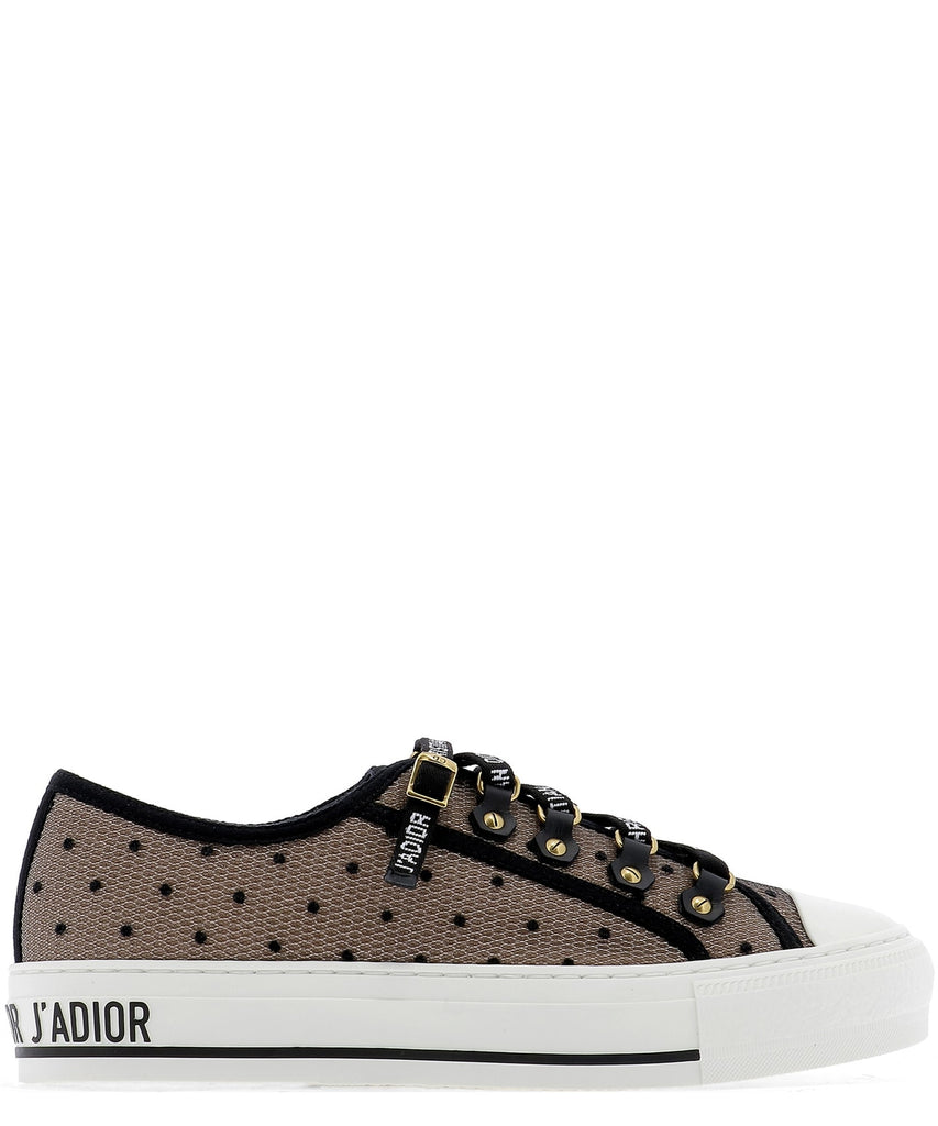 Dior Walk'n'Dior Plumetis Low Top Sneakers