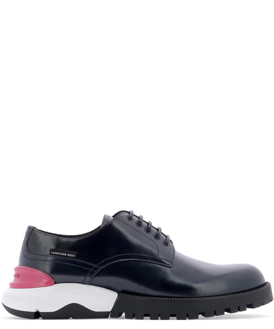 Dior Homme Contrast Sole Derby Shoes