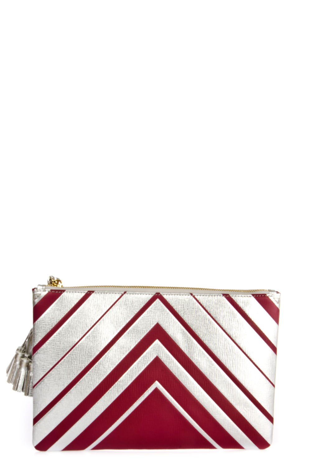 ANYA HINDMARCH DIAMOND GEORGIANA CLUTCH