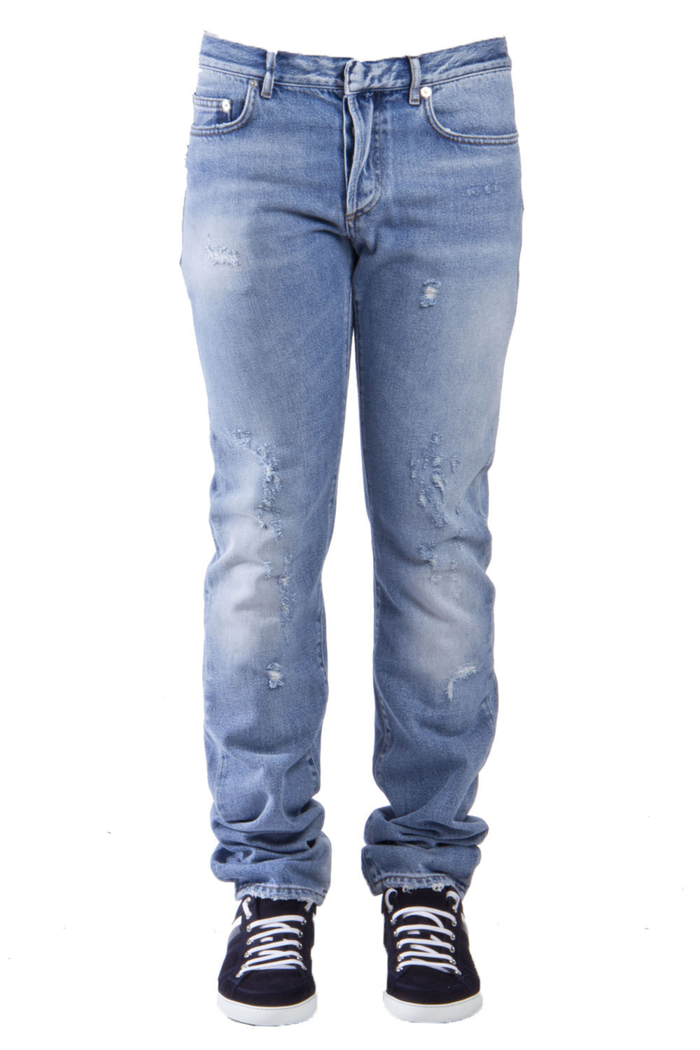 Dior Homme Jeans DIOR HOMME DISTRESSED LOOK JEANS