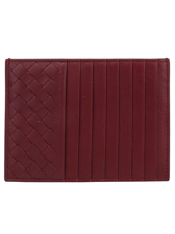 Bottega Veneta Woven Detail Card Holder