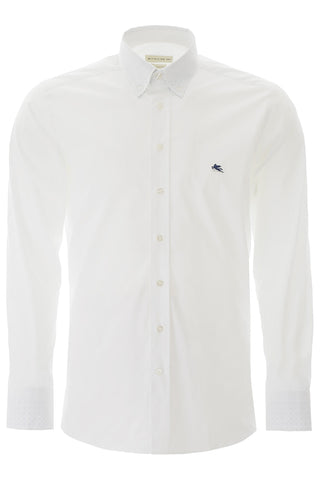 Etro Logo Embroidered Shirt