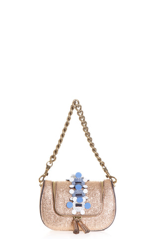 Anya Hindmarch Glitter Embellished Shoulder Bag