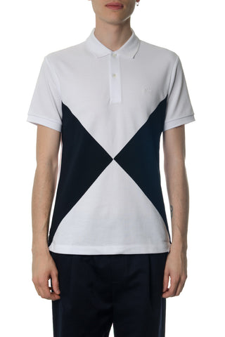 Burberry Check Print Polo Shirt