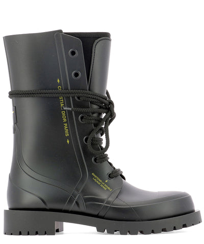 Dior Camp Rubber Ankle Boot