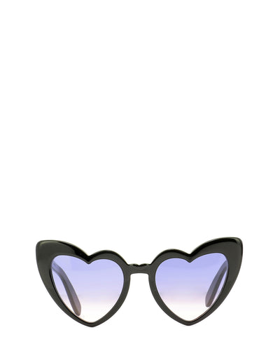 Saint Laurent Eyewear LouLou Heart Sunglasses