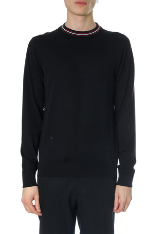 Dior Homme Logo Round Neck Sweater