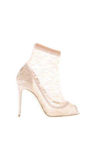 Dolce & Gabbana Lace Sock Pumps