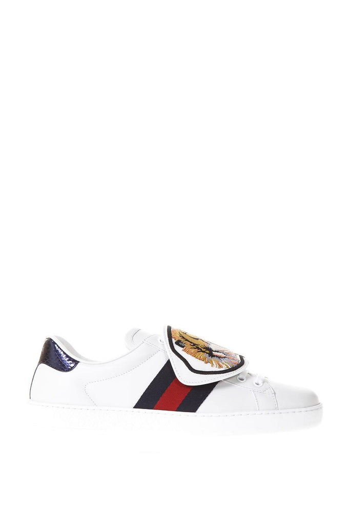 756dfdc9c2e Gucci Tiger Embroidered Ace Sneakers – Cettire