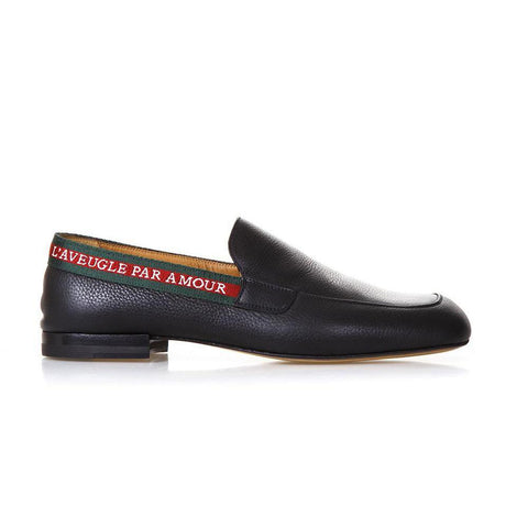 Gucci Web Loafers