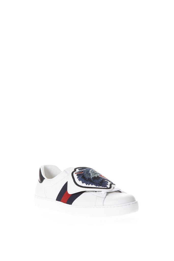 6407585a99a Gucci Wolf Patch Ace Sneakers – Cettire