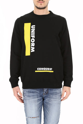 Sacai Uniform Conquest Print Sweater